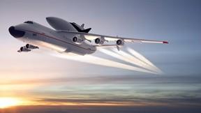 antonov,an-225,uçak,günbatımı