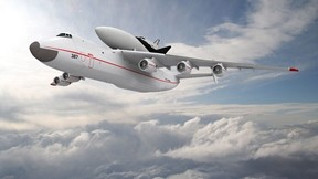 antonov,an-225,uçak,gökyüzü