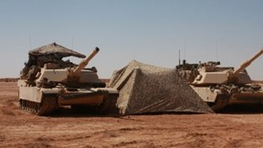 m1 abrams,tank,çöl,askeri taşıt