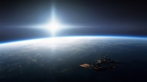 uzay aracı,uzay,dünya,güneş,bulut