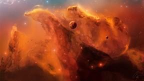 uzay,soyut,nebula,yıldız