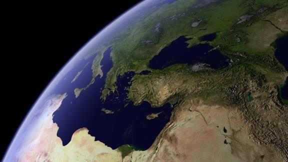 Uzaydan Dünya Yüzeyi