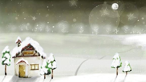 İllustrasyom Kış
