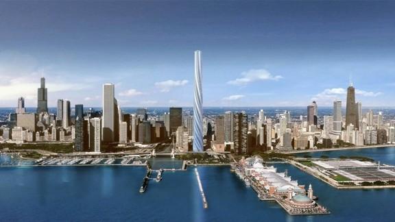 Chicago Spire Santiago Calatrava