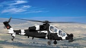 atak,helikopter,t129,test,tai,gökyüzü