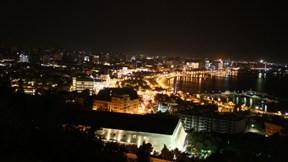 bakü,şehir,gece