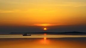 bursa,deniz,günbatımı,sandal