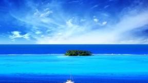 deniz,doğa,ada,tekne,gökyüzü