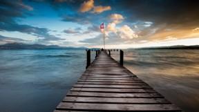göl,iskele,manzara,doğa