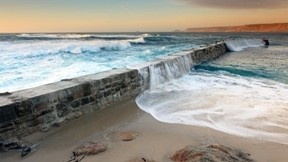 deniz,kum,doğa,gökyüzü