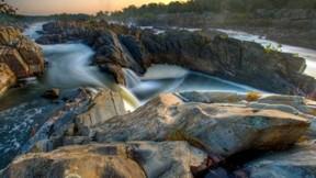 nehir,hdr,taş,doğa