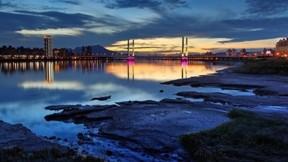 hdr,deniz,köprü,gökyüzü,şehir