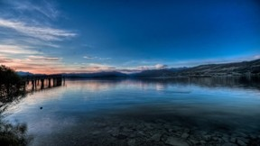 göl,hdr,gökyüzü