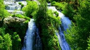 şelale,hdr,doğa,nehir,ağaç