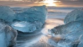 hdr,doğa,buz,deniz,bulut