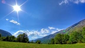 ilkbahar,güneş,gökyüzü,doğa,manzara