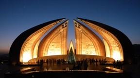 islamabad,anıt,gece
