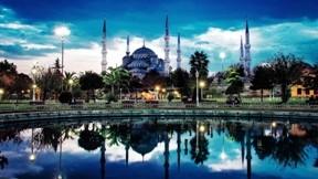 cami,istanbul,park,gökyüzü