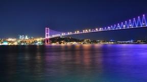 istanbul,köprü,boğaz,deniz,yıldız,gece