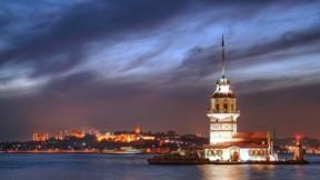 kız kulesi,istanbul,deniz