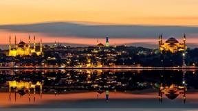 deniz,istanbul,cami,gökyüzü,gece