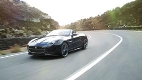 jaguar,f-type,sürüş,yol,araba
