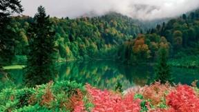 artvin,karagöl,göl,doğa,orman,dağ,bulut