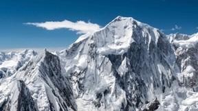 dağ,kış,kar,gökyüzü