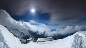 bulut,doğa,kar,kış,ev,güneş,gökyüzü