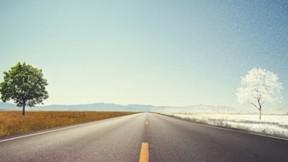 yaz,kış,doğa,yol