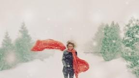 kar,kış,ağaç