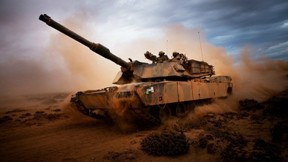 m1 abrams,tank,gökyüzü,askeri taşıt