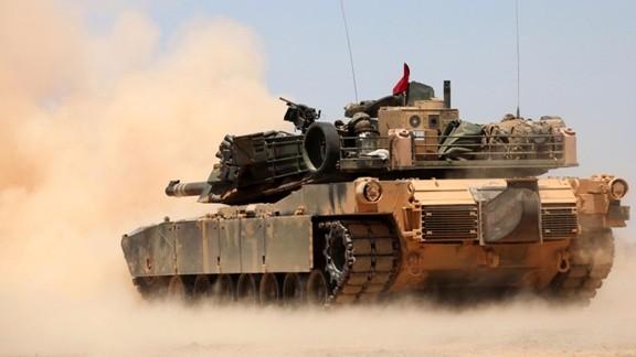 M1 Abrams Tatbikat