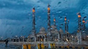 el salih,cami,sana,yemen,yağmur