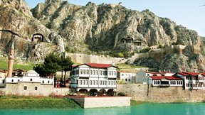 amasya,şehir,türkiye,nehir,dağ