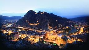 amasya,şehir,türkiye,nehir,kale,gece