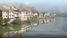 amasya,nehir,sis