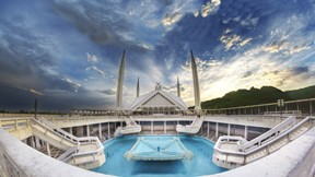 faysal cami,cami,islamabad,pakistan,gökyüzü