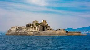 hashima adası,japonya,harabe,ada