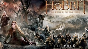 hobbit,beş ordular savaşı,film,2014,lee pace,orlando bloom,cate blanchett