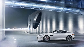 jaguar,f-type,r coupe,gece