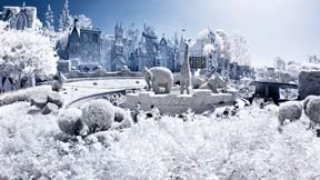 kış,kar,güneş