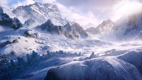 kış,kar,dağ