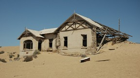 kolmanskop,namibya,ev,çöl