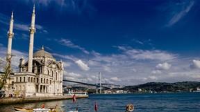 mecidiye cami,deniz,köprü