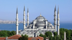 sultan ahmet cami,güneş
