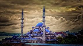 sultan ahmet cami,hdr