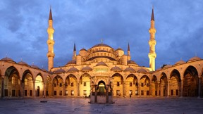sultan ahmet cami,avlu