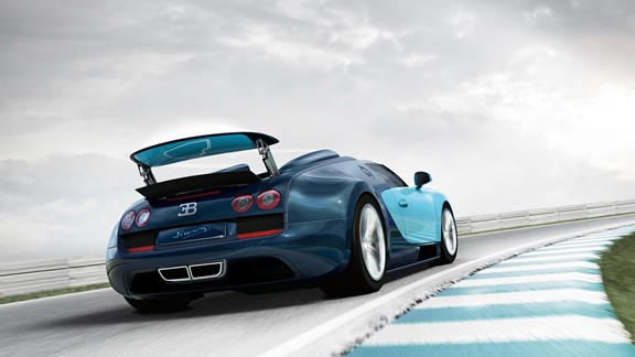 Bugatti Veyron Grand Vit Sport