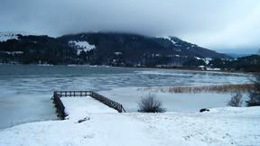 abant gölü,bolu,göl,orman,kar,kış